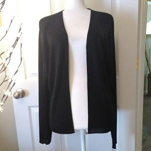 BROOKS BROTHERS womens open cardigan